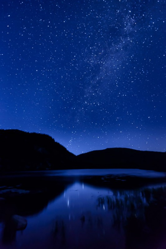Mont du Lac des Cygnes (Lac George)